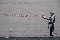 Banksy in NYC October 13, 2013