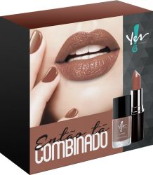 "Kit ""Então tá Combinado"" Capuccino - Yes - Yes Cosmetics Alphaville"