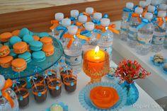 Nesse domingo aconteceu o aniversário de 26 anos da Martina, que além de cliente fiel, é uma amiga muito especial. Ela escolheu as cores azul turquesa e laranja, uma combinação super chique! Para a…