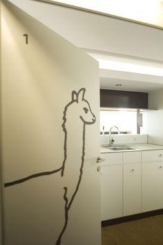 Lama #architecture #hotel #chalet #apartment #signaging #wayfinding Architekt: HolzBox Tirol, Foto: Gerda Eichholzer Box, Architecture, Design, Home Decor, Apartments, Homes, Decorations, Arquitetura, Homemade Home Decor