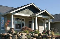 Spectacular Craftsman home - plan 011D-0014 - houseplansandmore.com