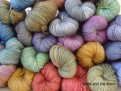 Beautiful yarn from Greta and the Fibers