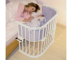 Great idea for someone like me who'd be scared to be too far away from the baby as a first time Mom!