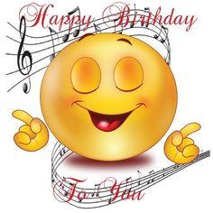 Happy Birthday Emoji, Happy Birthday Greetings Friends, Funny Happy Birthday Images, Happy Birthday Celebration, Birthday Wishes And Images, Happy Birthday Flower, Happy Birthday Video, Birthday Wishes Funny, Birthday Blessings