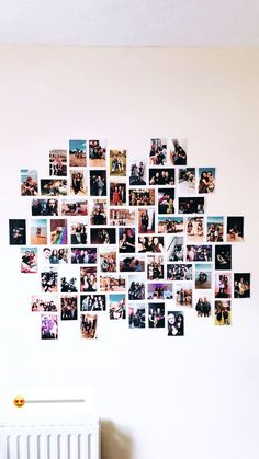 smart ideas dorm room photo college walls for bedroom design 23 Indie Room, Cute Room Ideas, Cute Room Decor, Picture Room Decor, Photo Wall Decor, Picture Walls, Bedroom Wall Collage, Photo Wall Collage, Photo Collages