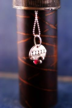 Little LOVE Necklace by metalsgirl on Etsy, $45.00