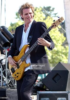 John Taylor of Duran Duran performs at 973 Alice's Now and Zen Festival 2003at Sharon Meadow in...