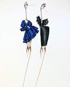 """ถูกใจ 1,511 คน, ความคิดเห็น 9 รายการ - @sofies_illustrations บน Instagram: """"#fashionillustration #illustration #fashion #drawing #design #fashiondrawing #sketch #fashionsketch…"""""""