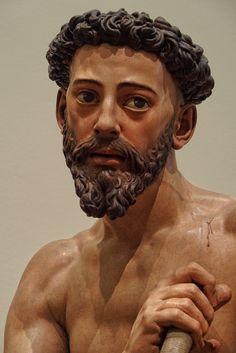 Santo Domingo de Guzmán penitente, de Juan Martínez Montañés (1606)  Museo de Bellas Artes de Sevilla