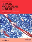 Human Molecular Genetics  brain structures essential for cognitive function and learning