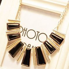 Exaggerated Gorgeous Alloy Geometric Pendants Women's Choker Necklace, AS THE PICTURE in Necklaces | DressLily.com