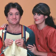 Mork & Mindy  - if you thought this show was funny - you should have the blooper reals- f'n genuis