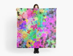 """""""Colourful Butterfly Abstract Painting"""" Scarves by jaggerstudios Chiffon Tops, Scarves, Iphone Cases, Butterfly, Throw Pillows, Abstract, Artwork, Poster, Painting"""