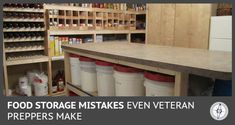 Kitchen ~ Storage Solutions 45 Ideas For Food Storage Room Ideas Signs Tips In Choosi Basement Storage, Pantry Storage, Pantry Organization, Basement Remodeling, Diy Storage, Kitchen Storage, Kitchen Decor, Storage Ideas, Pantry Ideas
