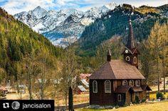 Tak tento záber veru vyšiel naše čarovné krajinné variácie radosť sa pozerat  #praveslovenske od @jancisalon #tatranskajavorina