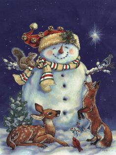 Jolly Snowman, by Donna Race