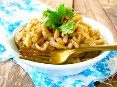 "Post image for Low Carb Thai ""Peanut"" Noodles (Peanut/ Sugar/Gluten/Dairy/Corn/Egg Free)"