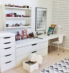 mommo design: IKEA HACKS FOR KIDS - Stolmen desk
