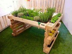 ᐅ hochbeet aus europaletten selber bauen | anleitung | tipps, Gartenarbeit ideen