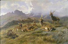 Landscape with Deer, 1887, Rosa Bonheur (French 1822-1899) Detroit Institute of Art