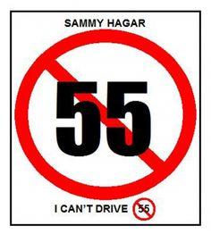 Sammy Hagar!  And 3 Lock Box...fav song ever!