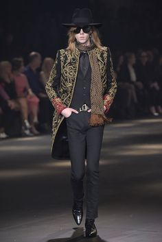 Saint Laurent Men's RTW Fall 2016 [PHOTOS] | WWD