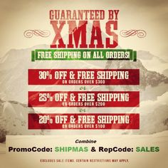 Don't Regret This! Only 10 HRS left to get it by X-MAS! 30% OFF + FREE SHIP! Use RepCode: SALES & PromoCode: SHIPMAS http://www.Karmaloop-Codes.com #karmaloop #shipmas #gifts #christmas #discounts