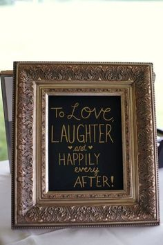 Adorable Wedding Decoration Quote.
