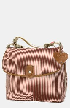 Free shipping and returns on Storksak Babymel 'Satchel' Diaper Bag at Nordstrom.com. Hypnotizing stripes add style to a handy diaper bag complete with an insulated bottle pocket, changing mat and plenty of interior storage compartments to keep you organized.