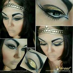 Love Egyptian style makeup