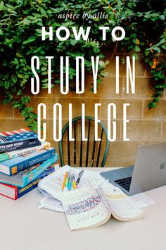 Incoming freshman that has no idea what to do? Incoming junior that needs to brush up their studying skills? Check out my top tips for how to study in college that will make you breeze through school! Study Methods, Study Tips, Good Study Habits, Study Schedule, College Classes, College Admission, Study Skills, Study Hard, Freshman Year