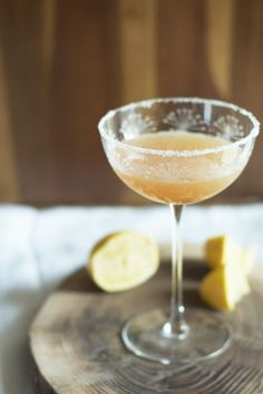 Cocktail Friday: Classic Bourbon Sour with Orange Bitters - Set the TableSet the Table Fun Cocktails, Party Drinks, Cocktail Drinks, Fun Drinks, Yummy Drinks, Cocktail Recipes, Yummy Food, Beverages, Bourbon Sour