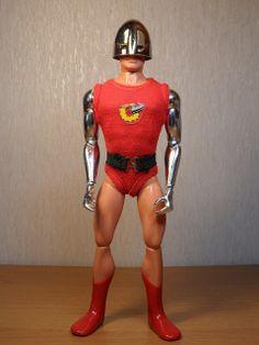 Bulletman the Human Bullet! Vintage G.I. Joe Adventure Team #toys #actionfigures #onesixthscale #nostalgia #dolls