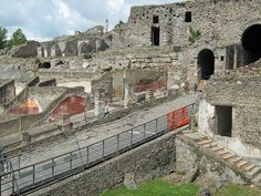 Pompeii, Italy.  It was amazing to see how modern they were.