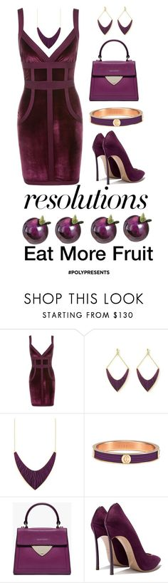 """#PolyPresents: New Year's Resolutions"" by shamrockclover ❤ liked on Polyvore featuring Charriol, contestentry and polyPresents"