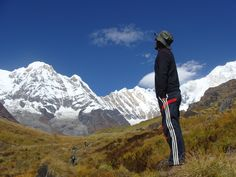 Annapurna is a name of mountain itself has range of mountains on the line in the western region of Nepal, north-west of Kaski Distric