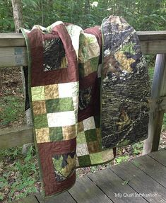My Quilt Infatuation: For Love of The Great Outdoors camouflage quilt