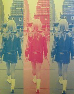 60's fashion /  pop art