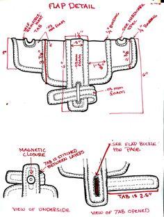 TECHNICAL SKETCHES - PAULA BONNAFANT