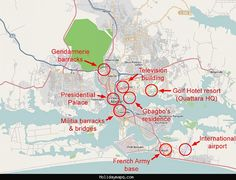 awesome Abidjan Map