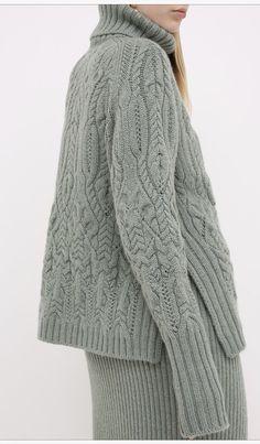 Cable Knitting, Knitwear, Knitting Patterns, Stitch, Crochet, Sweaters, Fashion Ideas, Dresses, Women