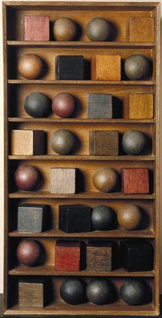 Pol Bury '16 Balls, 16 Cubes in 8 Rows', 1966 © ADAGP, Paris and DACS, London 2016