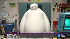 Baymax from 'Big Hero 6' sings 'Frozen' - Trying not to laugh, at school using school laptop and it's unlocked. It's to funny