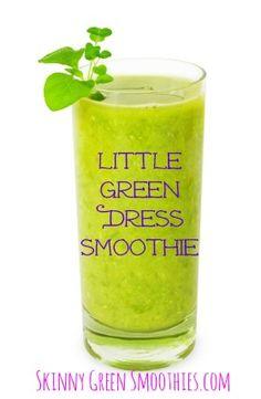 Little green dress smoothie #smoothie #greensmoothie #smoothiesalad #weightloss
