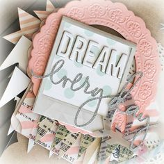 heidi swapp metallic mini album | dream album ~ memory file ~ heidi swapp by Jame @Two Peas in a Bucket