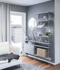 2019 stylish and warm home decoration design ideas - Page 95 of 155 - Inspiration Diary Living Room Inspiration, Interior Inspiration, Interior Decorating, Interior Design, White Houses, Warm Colors, Home Living Room, House Warming, Furniture