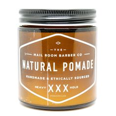 The Mailroom Barber All Natural Vegan Heavy Pomade