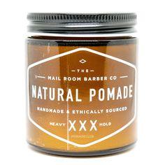The Mailroom Barber All Natural Vegan Heavy Pomade 3.5oz