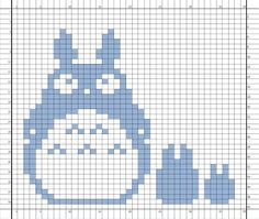 Nerdcrafts: Totoro Double-Knit Potholder