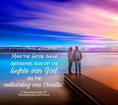 Rig julle gedagtes op die liefde van God! #rig #gedagtes #Liefde #volharding #God  #Here #Vader #Jesus #JesusChristus #Christus #LiefdevirJesusChristus